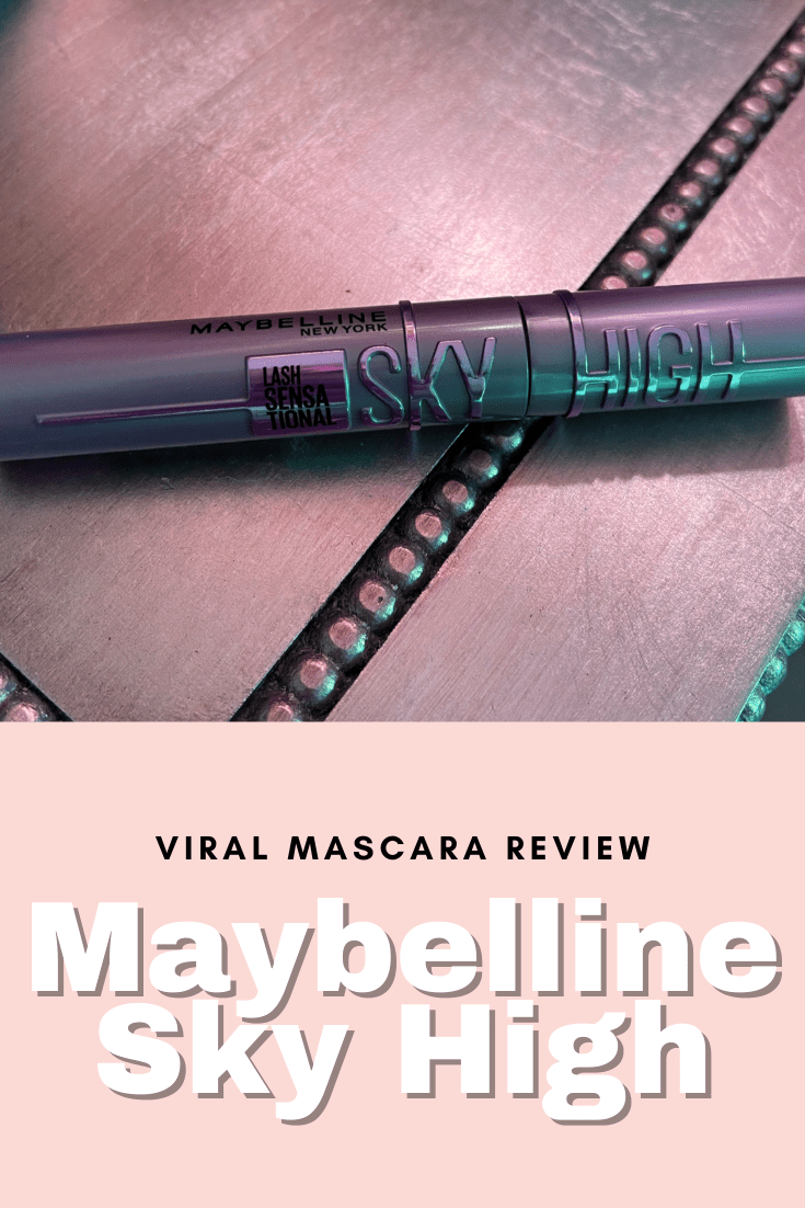 Viral Mascara Review: Maybelline Sky High