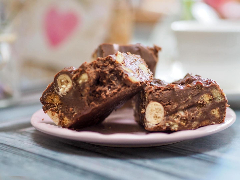 Malteser Tiffin no bake fridge cake recipe