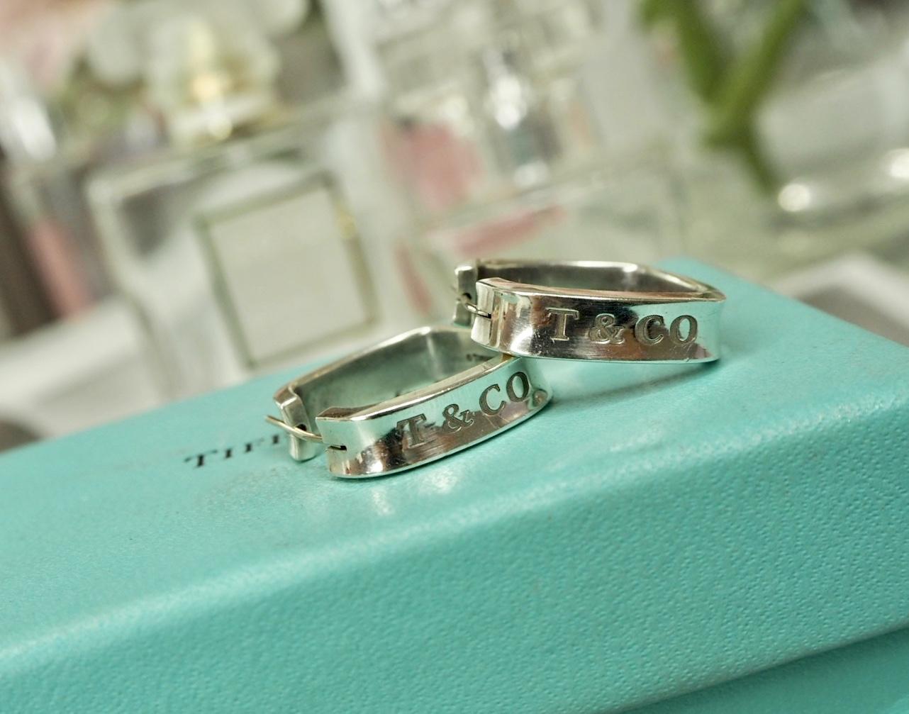 Tiffany Earrings with gift box. Inkerman luxury wish list.
