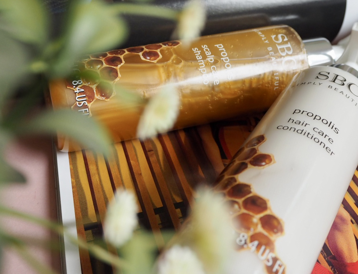 SBC Propolis shampoo and conditioner