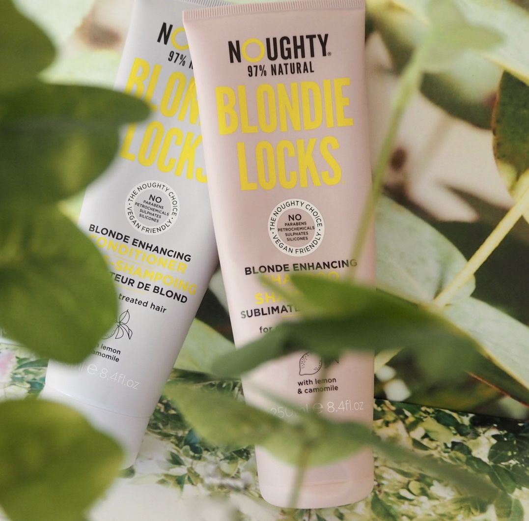 Noughty Haircare Blondie Locks Shampoo and conditioner for blonde hair