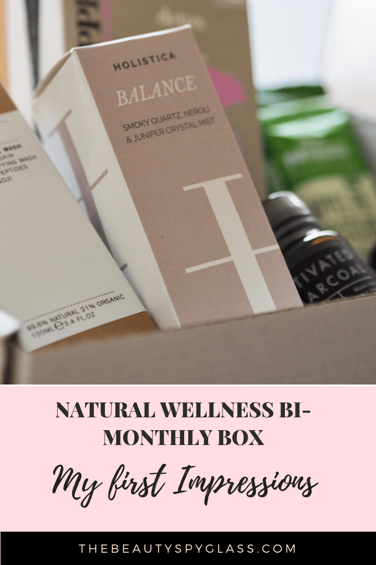 natural Wellness bi-monthly subscription box