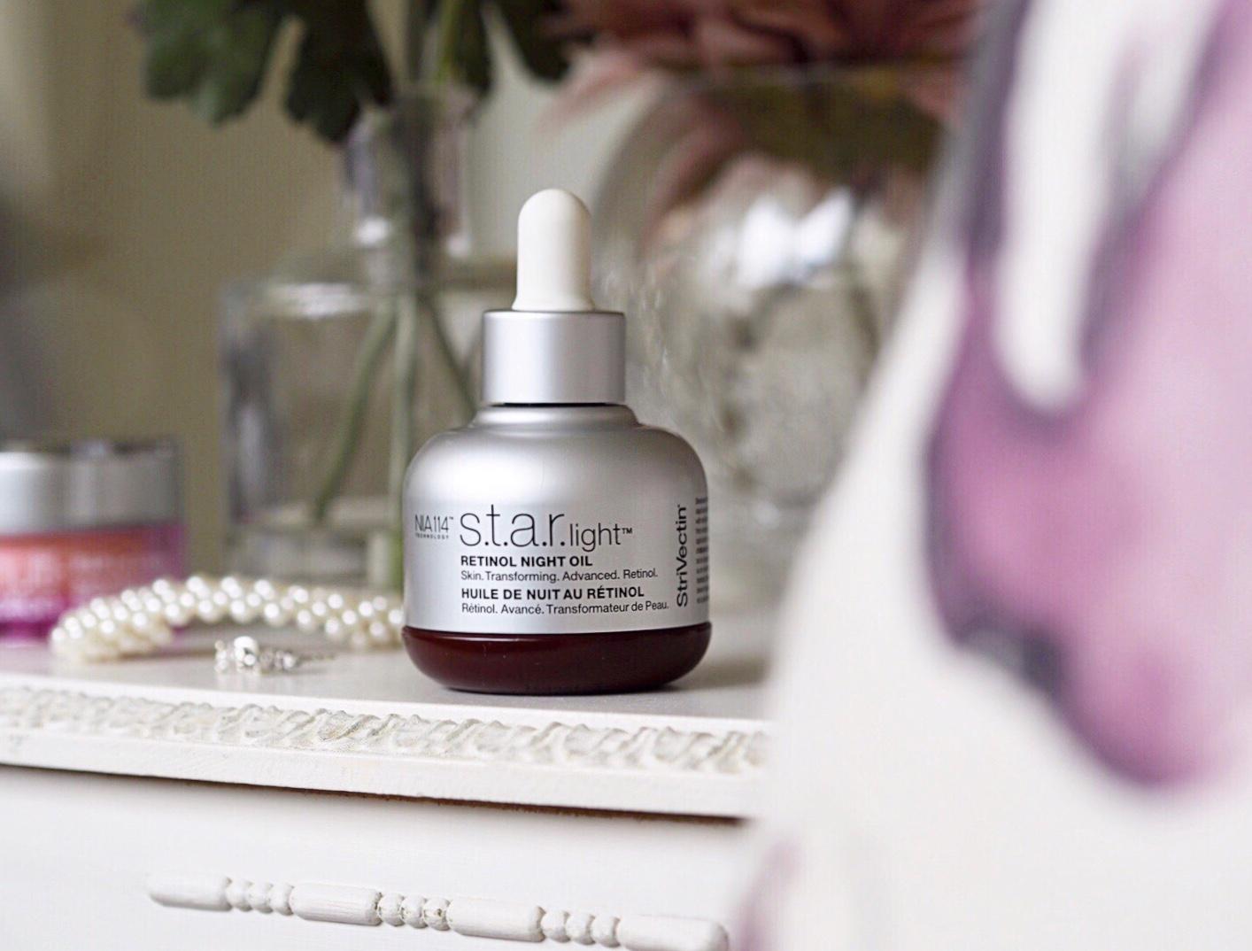 StriVectin Skin Transforming Retinol S.T.A.R. Light Night Oil The Beauty Spyglass