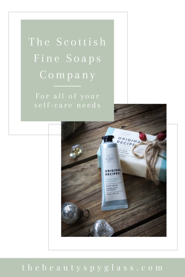 The Beauty Spyglass Scottish Fine Soaps review