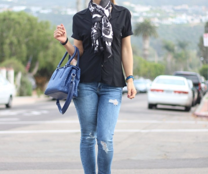 TAKE YOUR OUTFIT TO THE NEXT LEVEL BY ADDING A SCARF