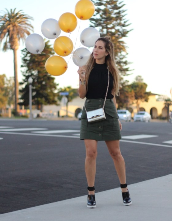 BIRTHDAY GIRL! // UTILITY SKIRT