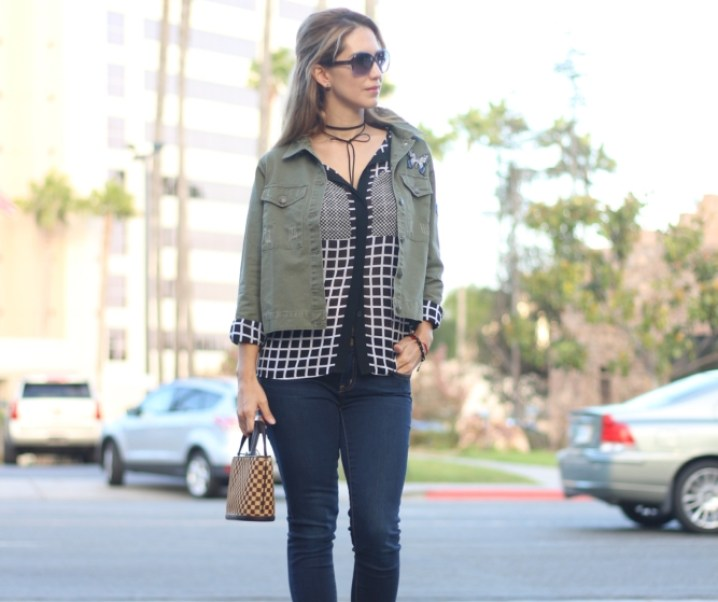 OLIVE JACKET // GREAT PIECE FOR FALL