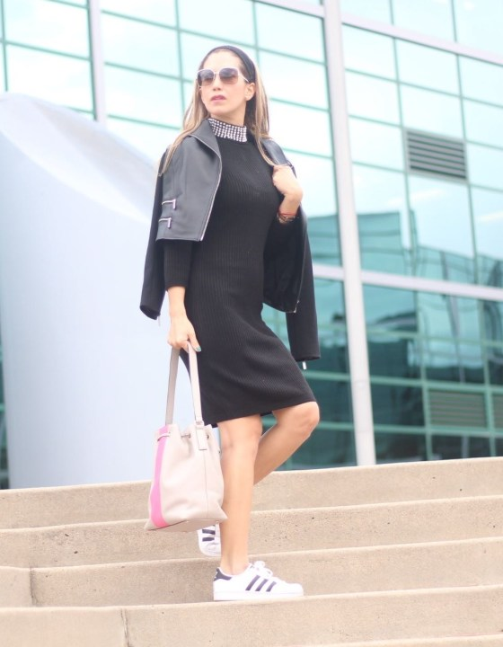 SPORTY CHIC // PERFECT SWEATER DRESS