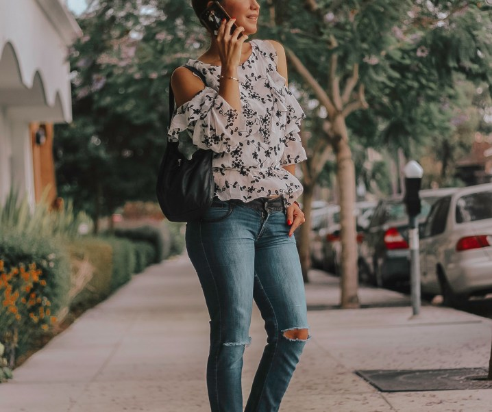 Casual Days // Ruffles and Jeans