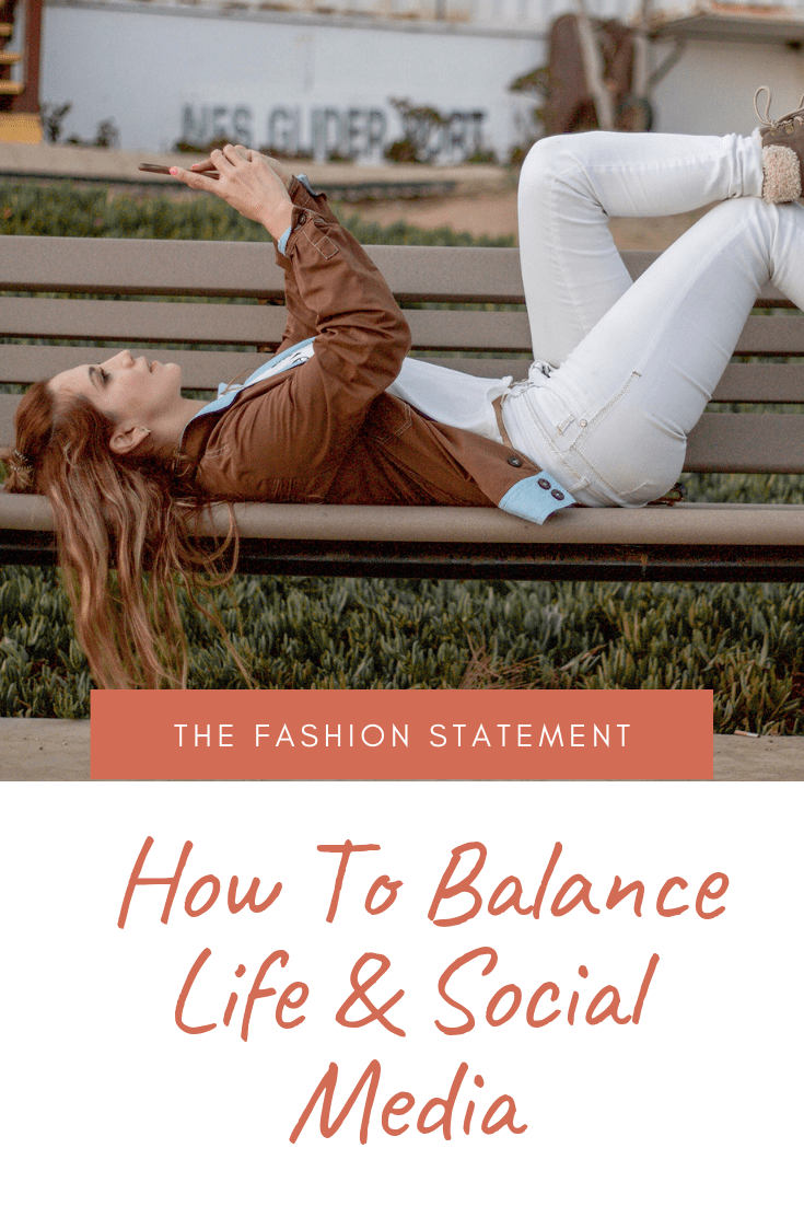 how to balance life and social media