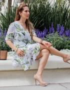 Chic Mix: Denim Jacket And Lace Dress