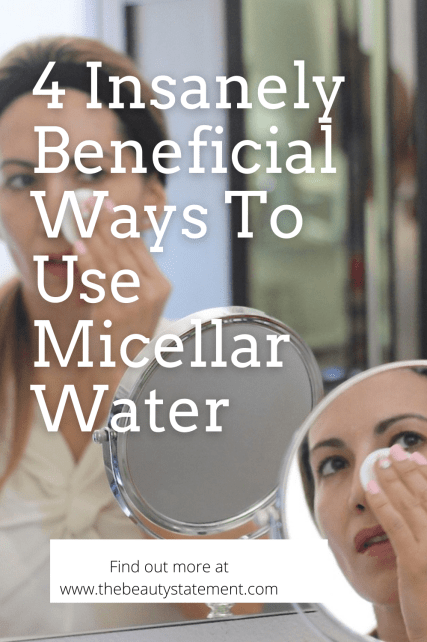 Ways to use micellar water