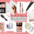 a variety of popular beauty products