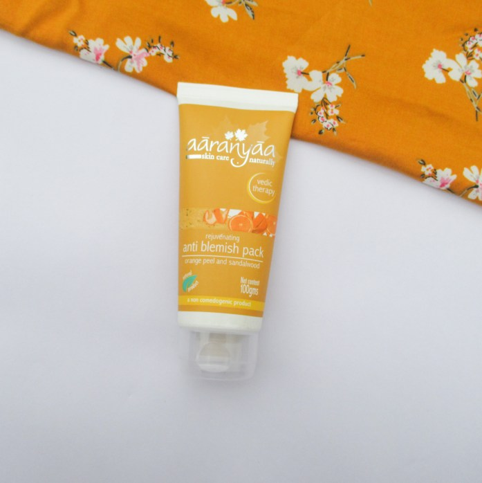 Aaranyaa Rejuvenating Anti Blemish Pack - Orange and Sandalwood