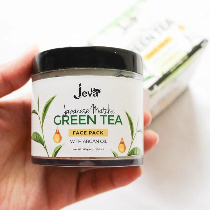 Jeva Green Tea Face Pack Review