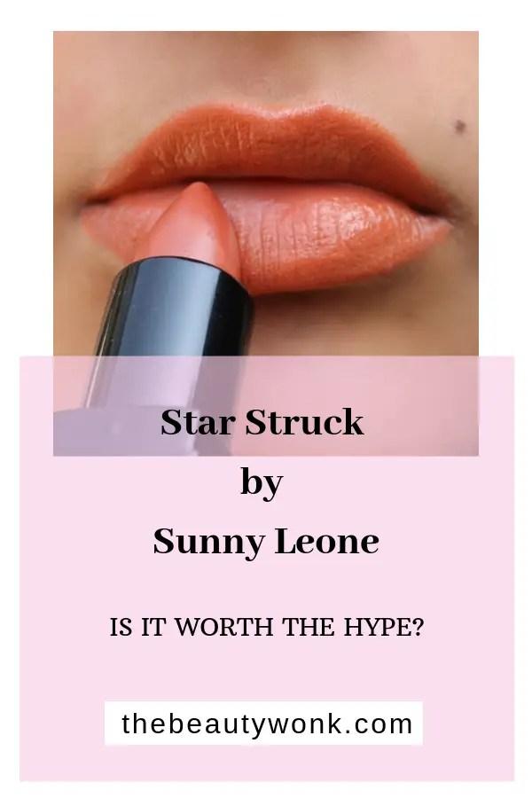 Star Struck by Sunny Leone Intense Lipstick in Caramello