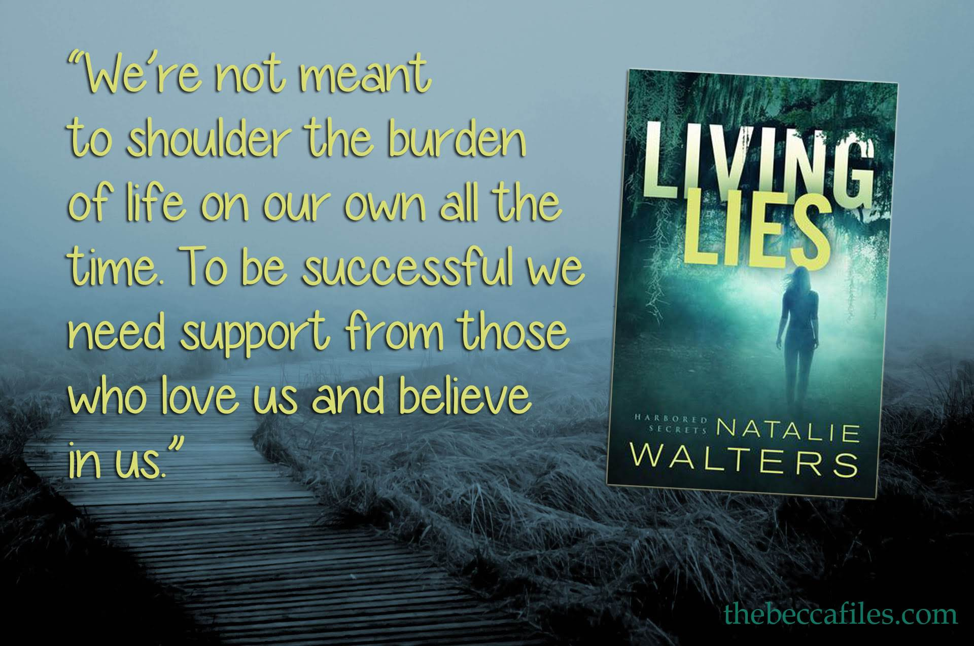living-lies-quote