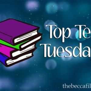 Top Ten Tuesday – Books With Colors in the Title