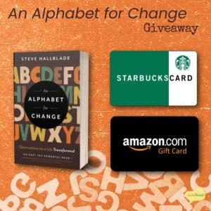 An Alphabet for Change – Blog Blitz & Giveaway
