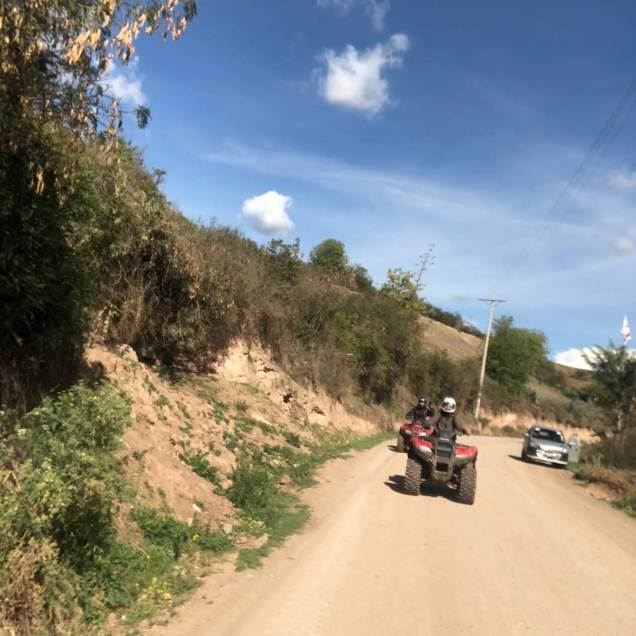 Quad biking!