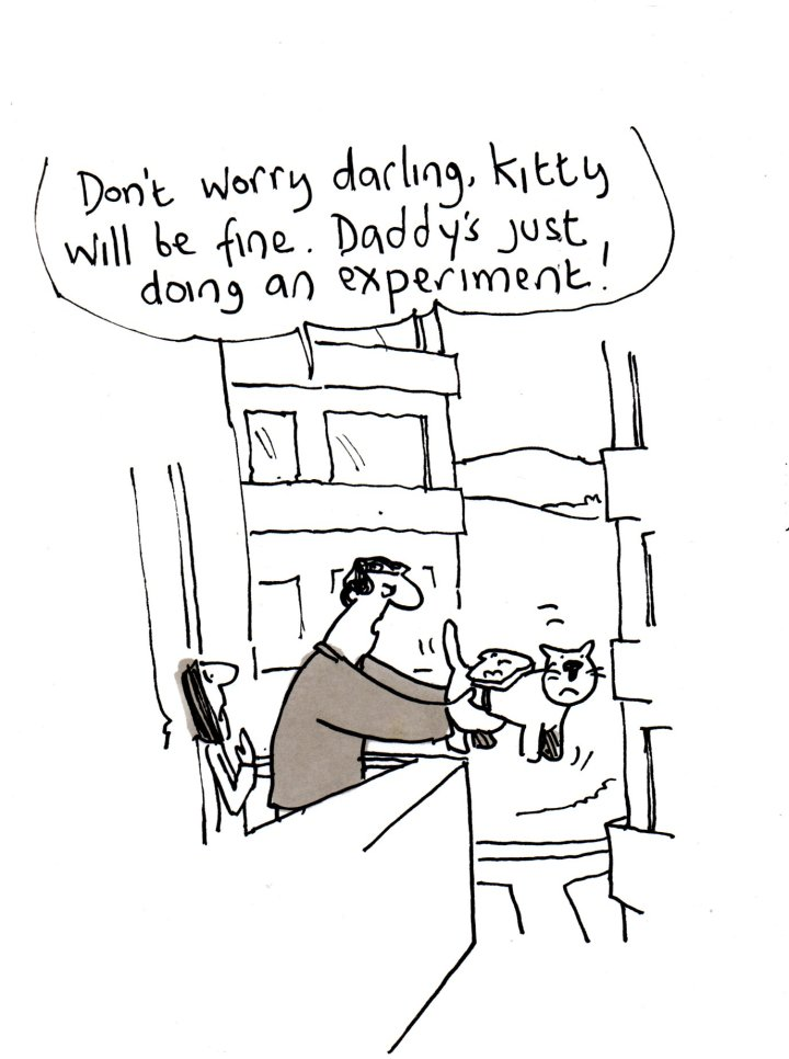 The Becket List – An A-Z of First World Problems- llustration by Tony Husband