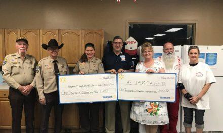 Walmart Donates To Two Local Charities