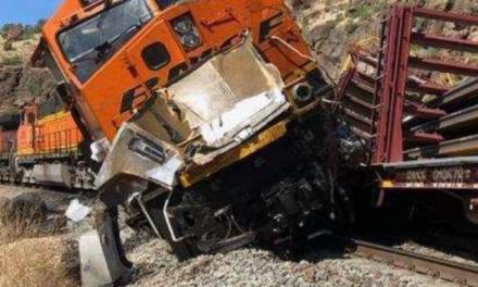 Train Crash Leaves One Dead, One Injured