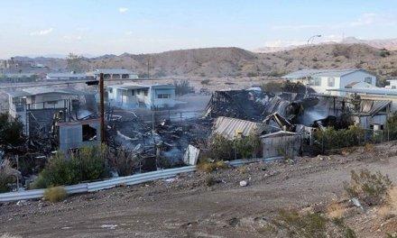 Blaze Kills Woman, Destroys Two Mobile Homes