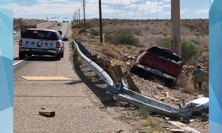 Driver Crashes Into Pole On Bullhead Parkway