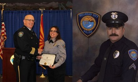 Greisen, McCullough Honored At Police Awards Ceremony