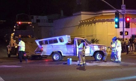 Plata Crash Injures One