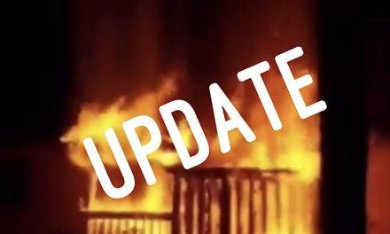 Shed Fire Update