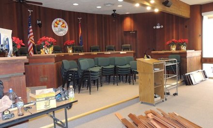 Ribbon Cutting for Newly-Remodeled City Council Chambers