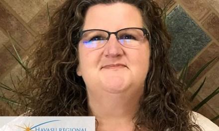 Havasu Regional Medical Center Names Jennifer Perales  2019 Mercy Award Winner