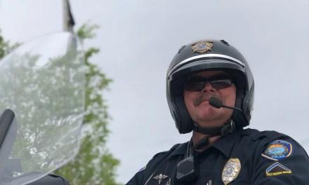 Officer Osborne Retires ~ Bullhead City