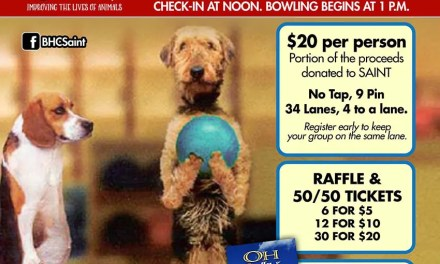 SAINT Bowling For Pets Fundraiser