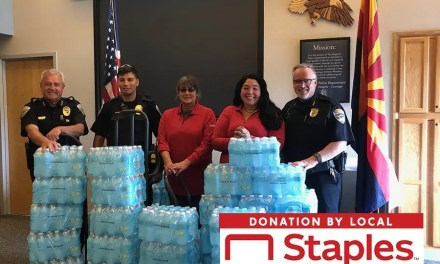 Water Donation to KPD