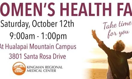 Women's Health Fair Tomorrow Oct 12th