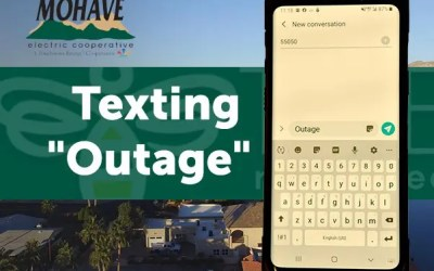 NEW Text Outage Service