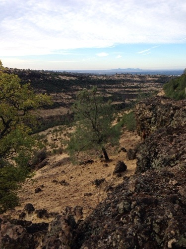 The Sutter Butte from the ranch.