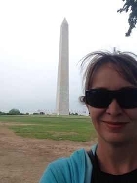Felfie with the Washington Monument.