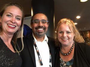 My favorite felfie from the week. @AMagicMama @ramez and myself! Mr. Naam was so kind and personable, thank you Sir!