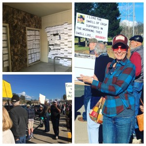 T rally held at Mr. LaMalfa's office in Oroville on February 27th.