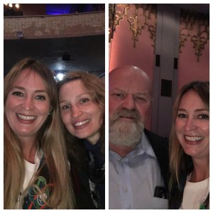 I took a felfie with both Jessica Holcombe who is running for Mr. LaMalfa's position. And Mr. William Connelly my Supervisor. I like my local politicians, I do!