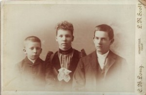 My Great Grandpa Sam, Great Great Aunt Brydie and Great, Great Uncle Albert, 1892.