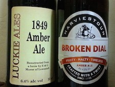 The incongruous amber ale