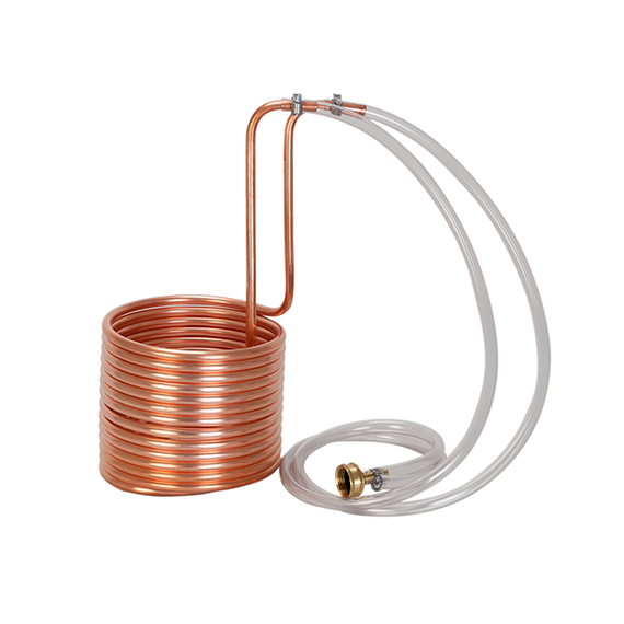 Wort Chiller made of Copper