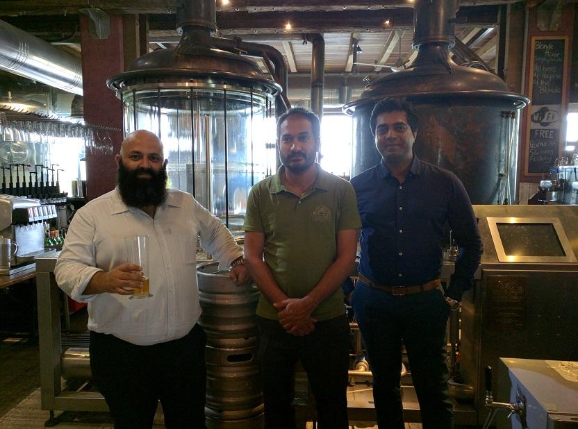 Oscar Olsen, and The Beer Chronicles team