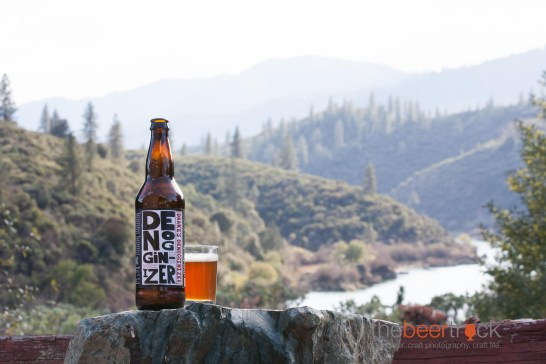 Drake's Denoginizer Double IPA - prefect way to enjoy the view outside out cabin at Coram Ranch.