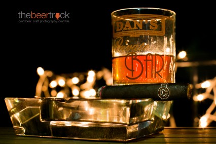 Yellow Rose Double Barrel Bourbon and a Padron Series 2000